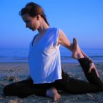 Melissa Corazon Beach Yoga